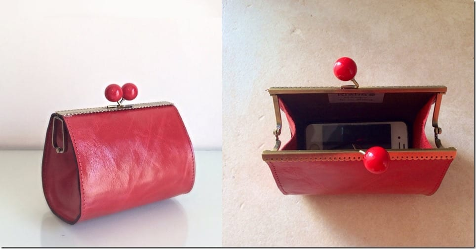 vintage-style-red-leather-clutch