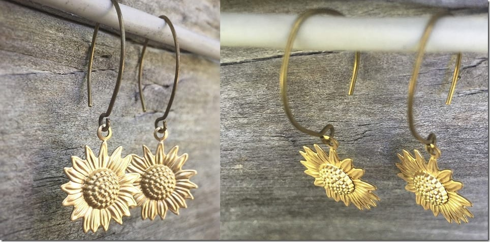 90s-inspired-sunflower-charm-earrings