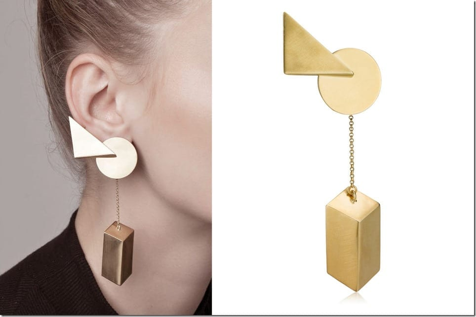 dmap cropped in jewelry vermeil shop structure earrings geometric sarahloertscher zs