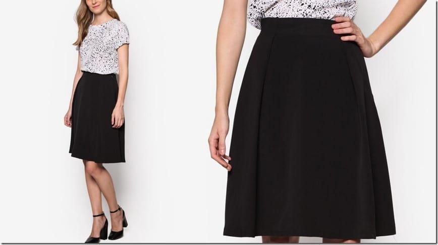 black-knife-pleated-midi-skirt