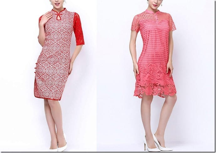 For Mandarin Collar Lovers ~ Cheongsam Dresses And Oriental Style Blouses With A Modern Twist