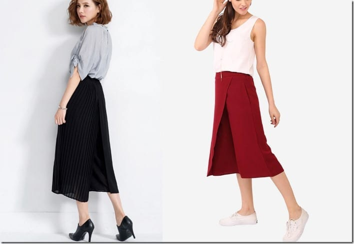 Brand New Culotte Styles To Wear For Christmas 2016