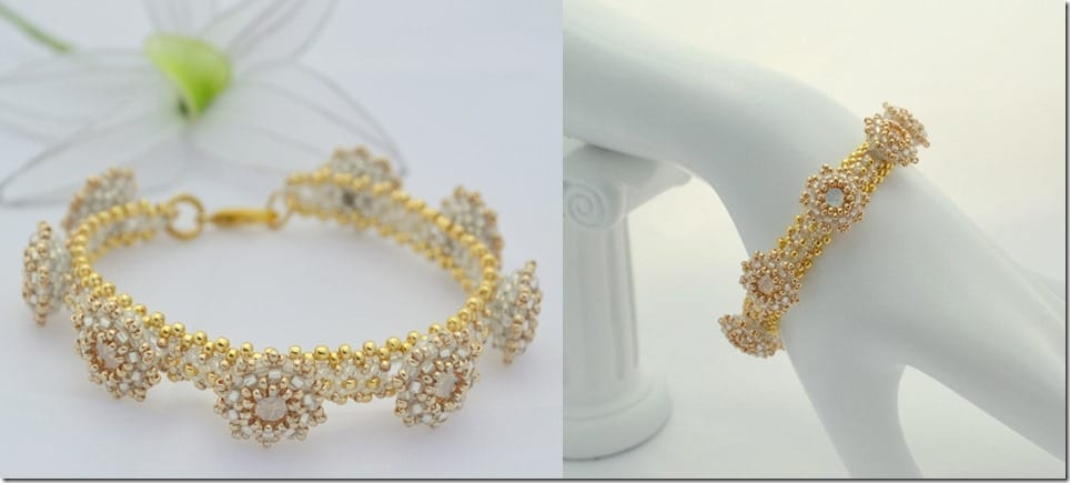 gold-white-crystal-beaded-bracelet