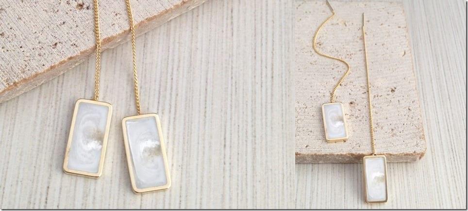 gold-white-marble-thread-earrings