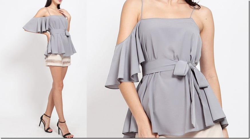 grey-asymmetrical-cold-shoulder-top