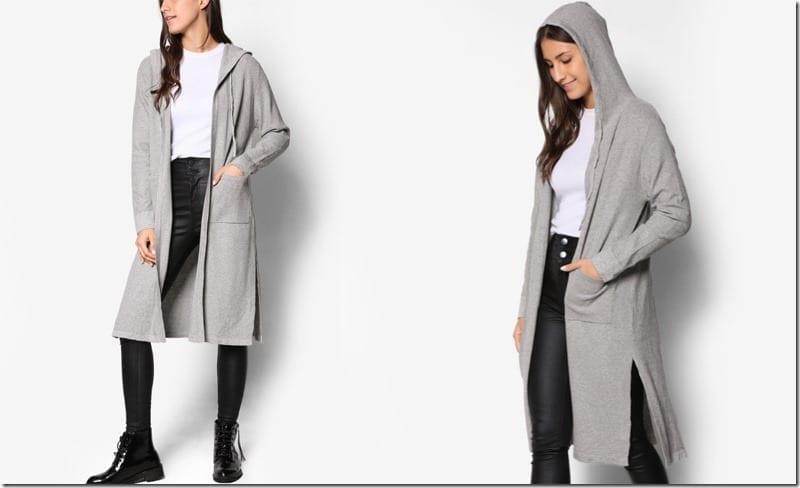 long-grey-hooded-cardigan