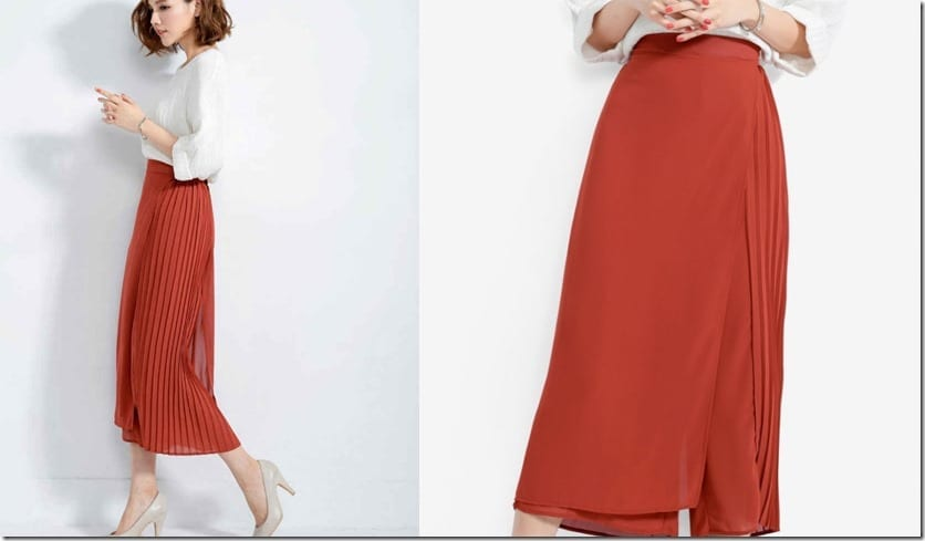 orange-side-pleated-overlay-culottes