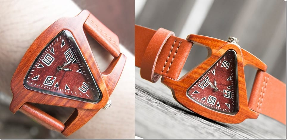 personalized-triangle-wood-watch
