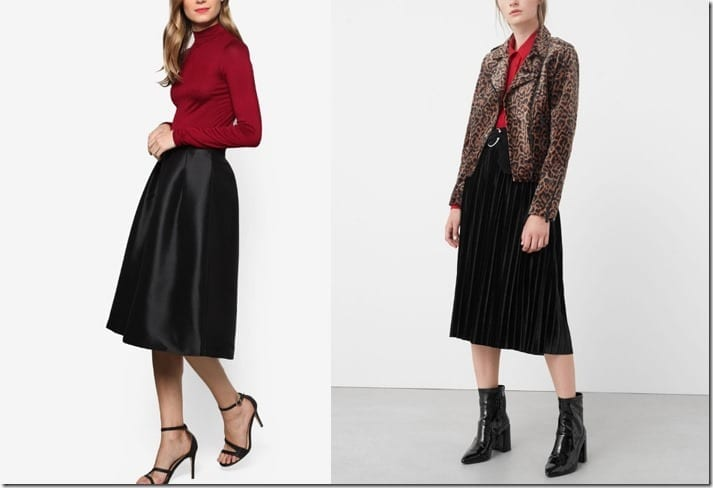 Versatile Black Skirt Styles To Pair With Your New Year's Eve Party Outfit