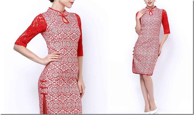 red-floral-cheongsam-lace-sleeves