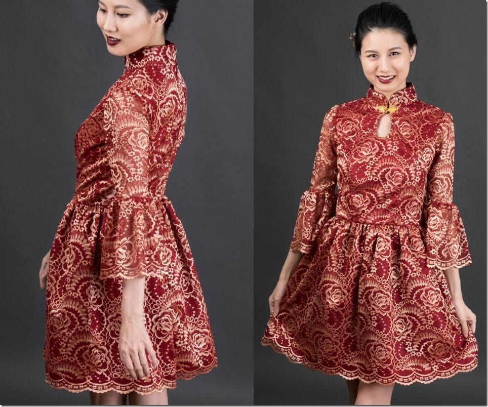 red-gold-lace-mod-cheongsam-dress