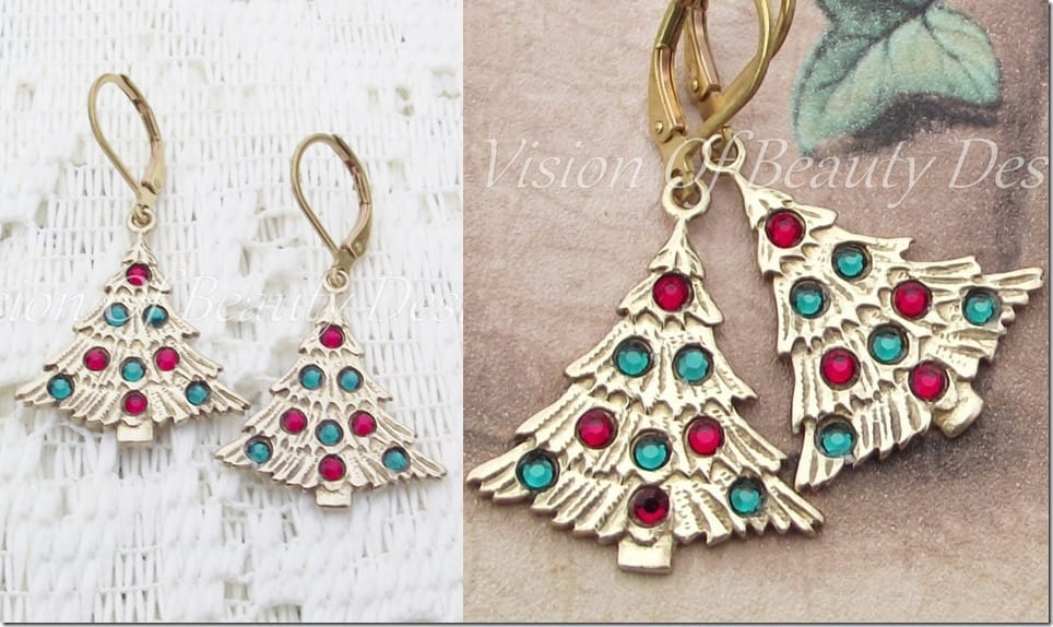 shimmering-christmas-tree-earrings