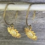 Fashionista NOW: Sunflower Earring Styles Jewelry Inspiration