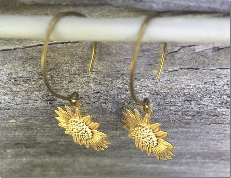 Sunflower Earring Styles Jewelry Inspiration