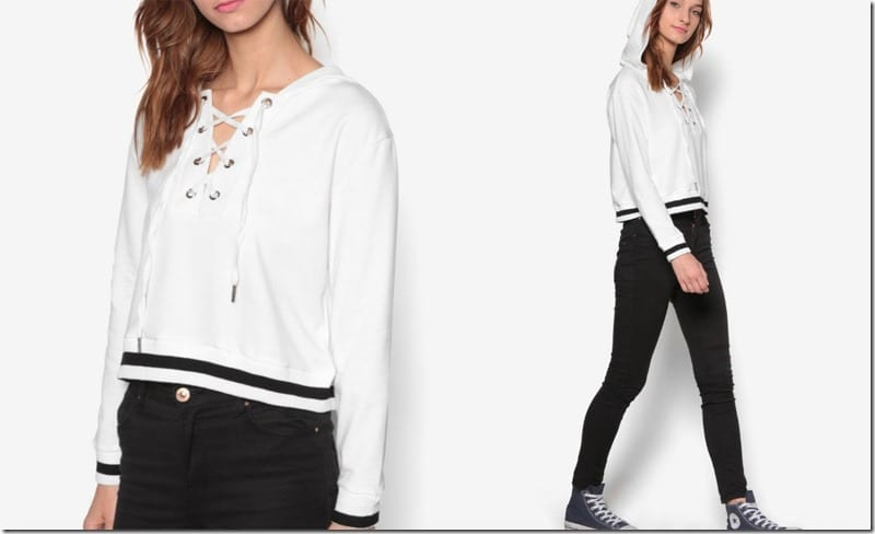 white-lace-up-crop-hoodie