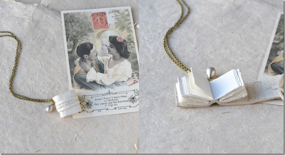 white-leather-book-necklace-vintage-pearl