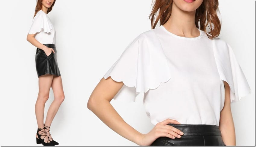 white-scallop-style-sleeve-top