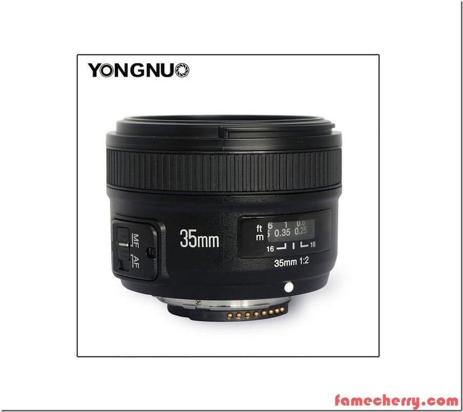 Yongnuo 35mm f2 Nikon Lens Malaysia
