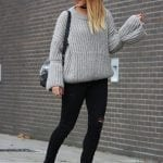 Fashionista NOW: 7 Stylish Ways To Nail The Oversize Knit Sweater Look Like A Street Style Pro