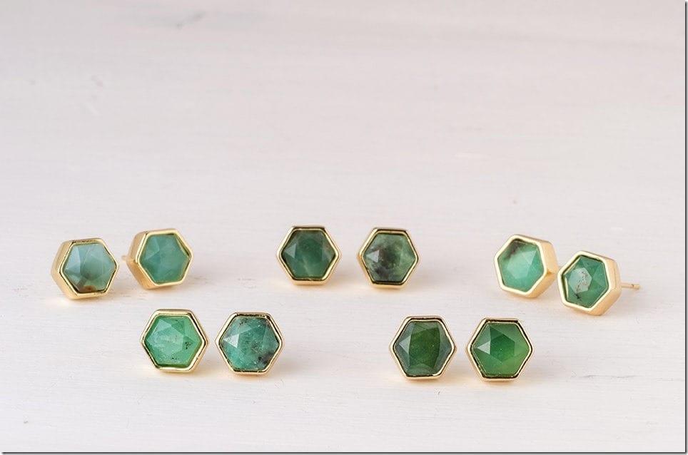 australian-hexagon-jade-stud-earrings