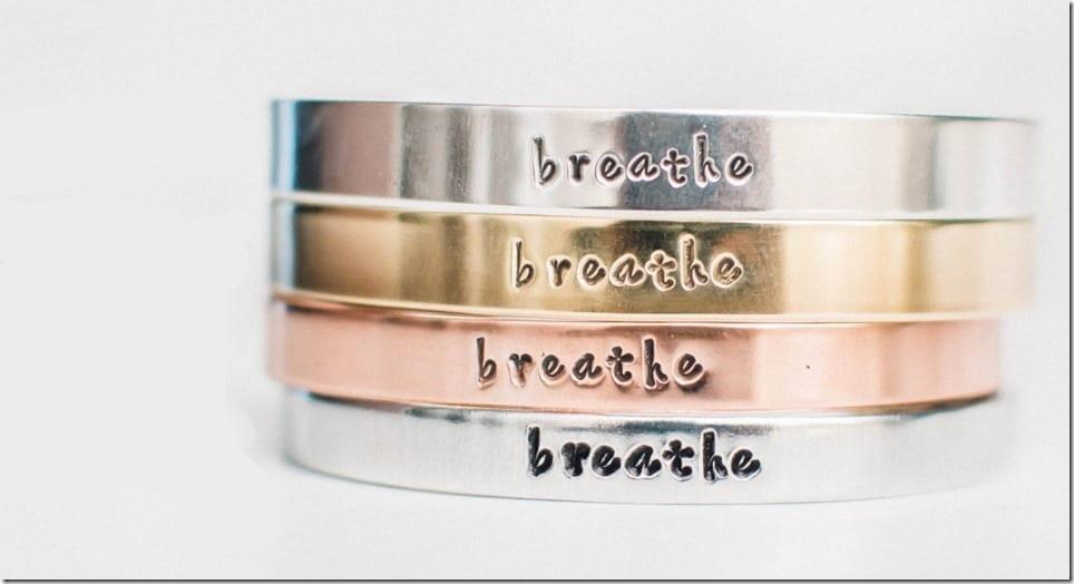 breathe-quote-cuff-bracelet