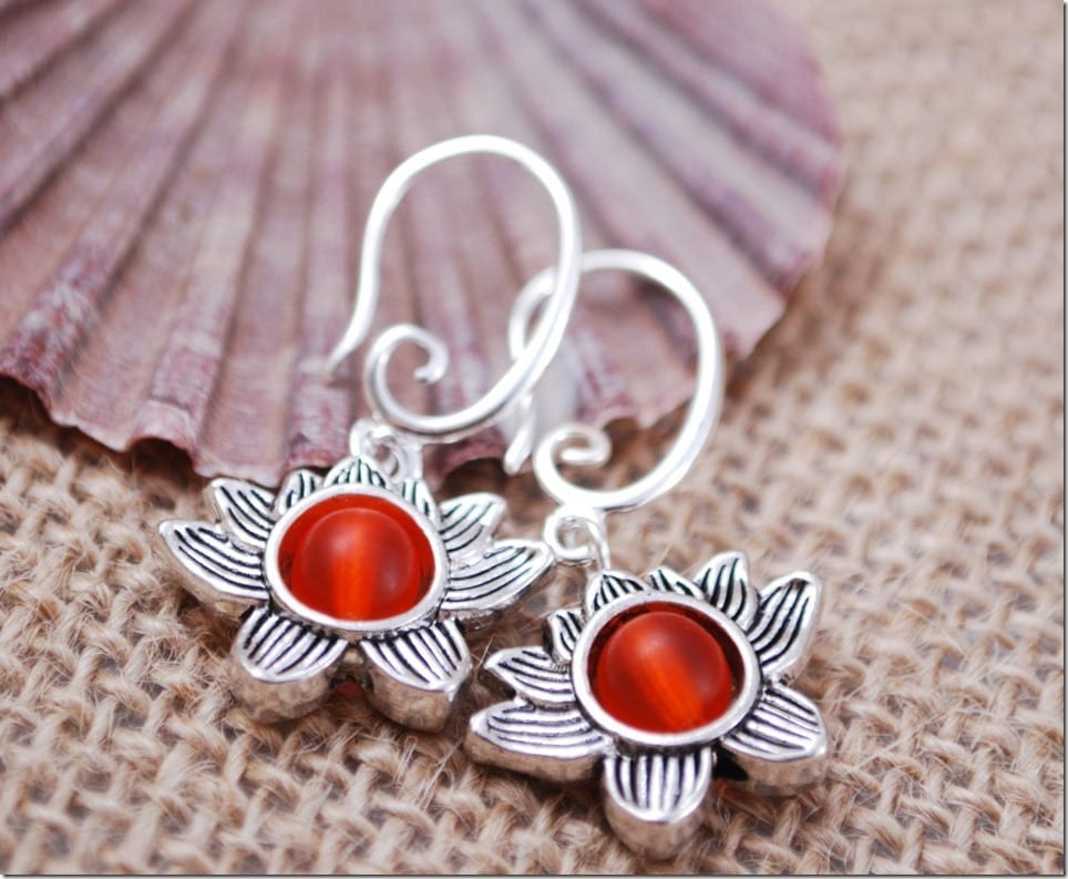 10 Pretty Lotus Blossom Earring Styles For Lunar New Year 2017