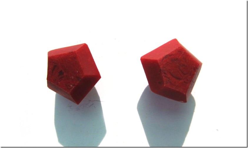 deep-red-geometric-stud-earrings