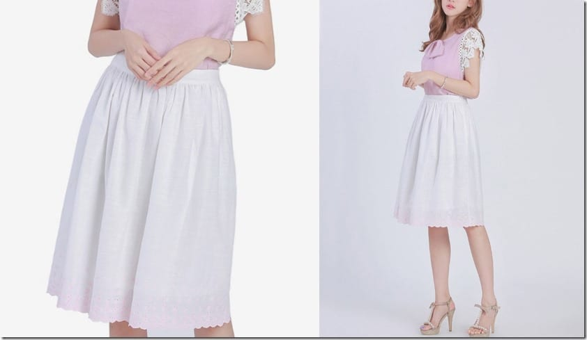 embroidered-hem-white-midi-skirt