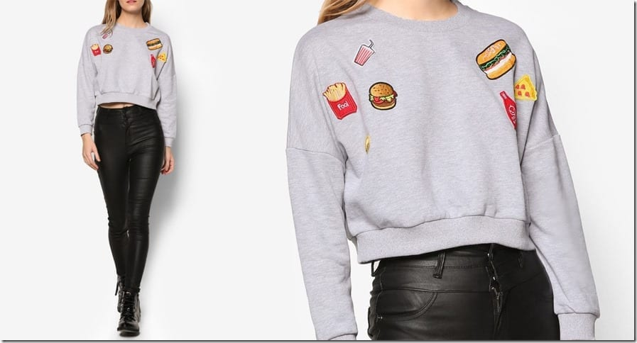 fast-food-patch-sweater