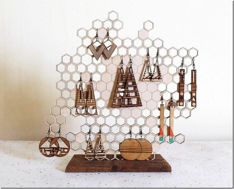 geometric-honeycomb-jewelry-display