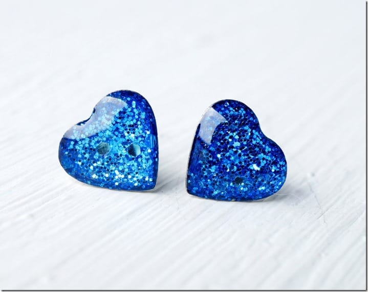 glittery-blue-heart-stud-earrings