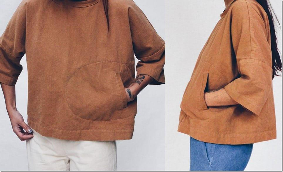 ochre-brown-kimono-style-top