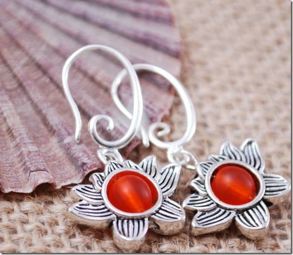 orange-bead-lotus-earrings