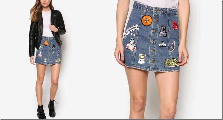 patch-mini-denim-skirt