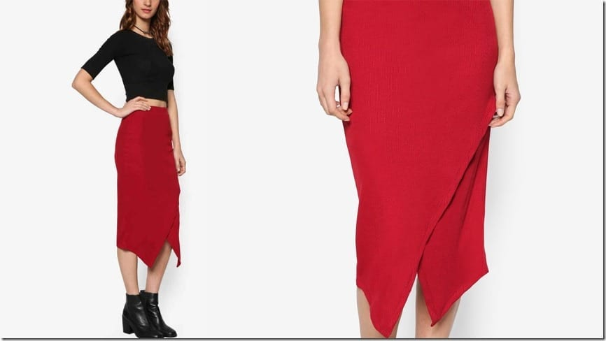 red-rib-wrap-skirt