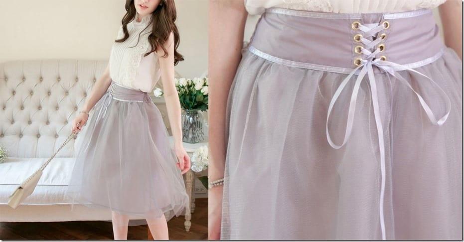 romantic-grey-tulle-midi-skirt