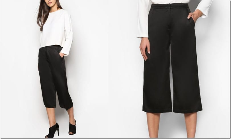 sleek-black-satin-culottes