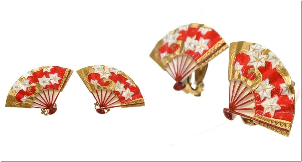 vintage-porcelain-maple-leaf-fan-earrings