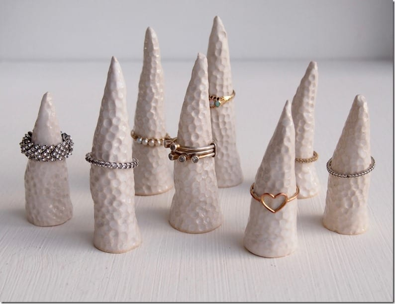 white-ceramic-ring-cones