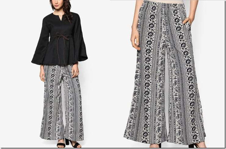 abstract-black-white-palazzo-pants