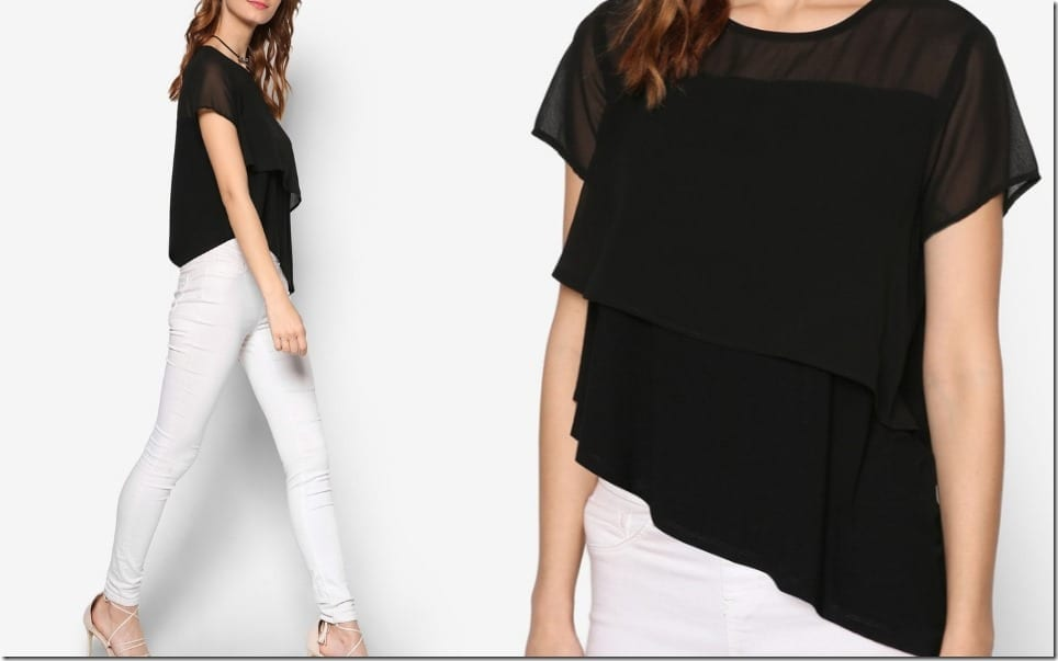 black-asymmetric-layered-top