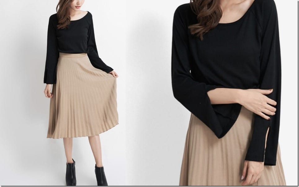 black-knit-top-raglan-slit-sleeves