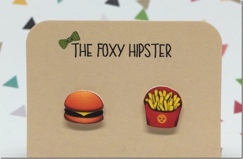 burger-and-fries-emoji-stud-earrings