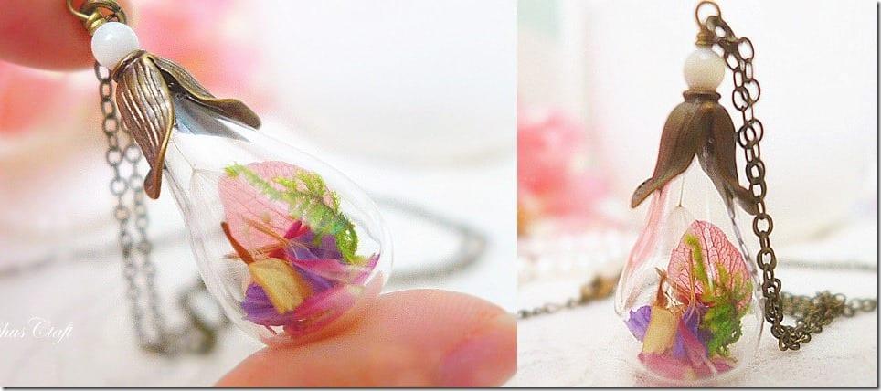 Dried Flower Necklace Malaysia
