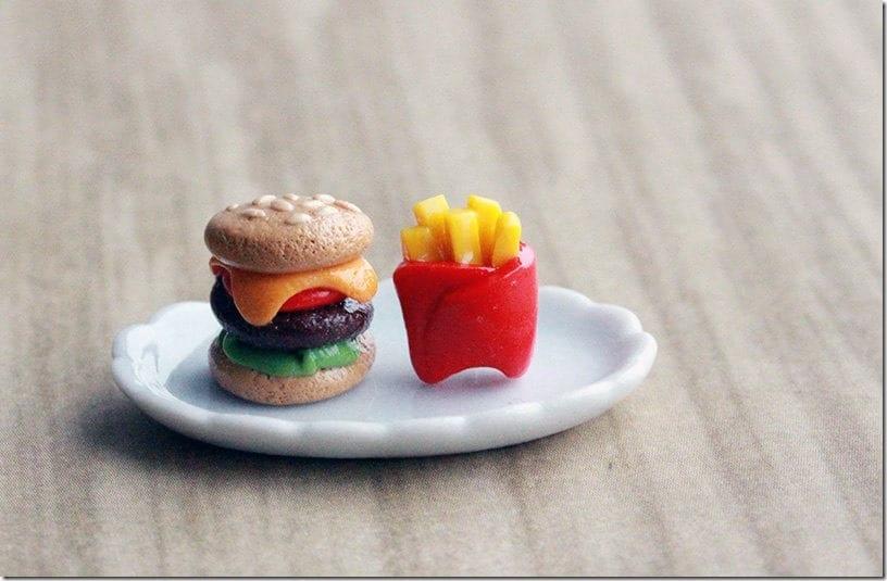 fast-food-stud-earrings