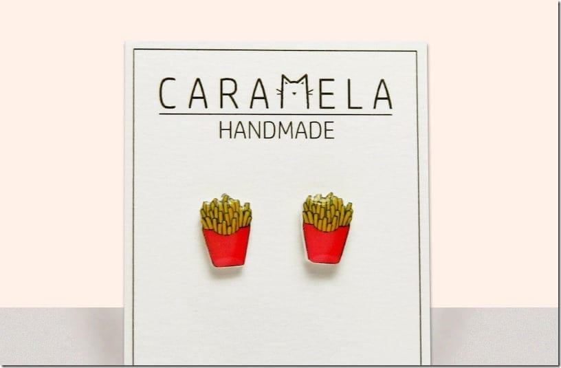 glossy-french-fries-stud-earrings