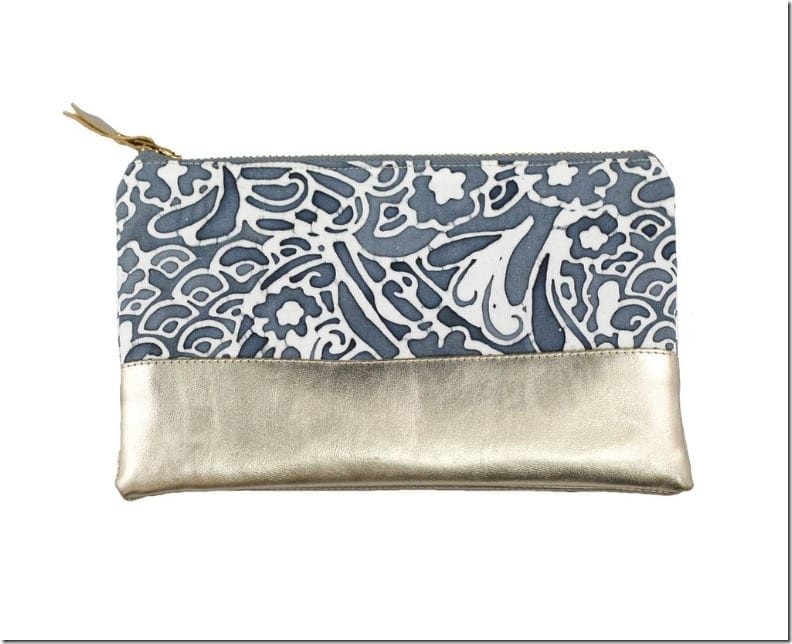 gold-leather-batik-pouch
