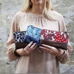 Fashionista NOW: Malaysian-Handmade Batik Leather Zip Pouch Styles To Go With Your OOTD