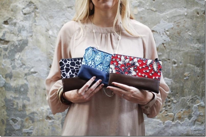 Malaysian-Handmade Batik Leather Zip Pouch Styles To Go With Your OOTD
