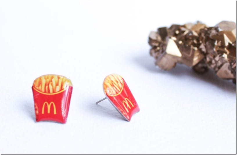 lightweight-french-fries-stud-earrings